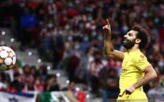 Penalti Mohamed Salah menangkan Liverpool atas 10 pemain Atletico
